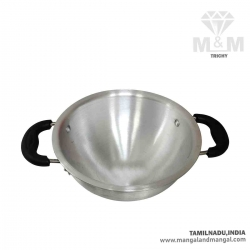 Aluminium Deep Kadhai / Kadai with Handle