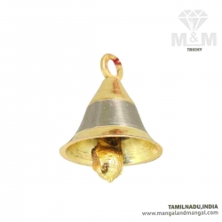 Brass Hanging Bell Ghanti For Home Temple, Door, Hallway, Porch / Brass Cow, Sheep Bell / Pet Animal Ornament