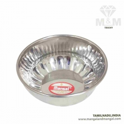 Stainless Steel Bowl Round / Veg Bowl / Dishes Bowl / Katori for Kitchen and Dining Serving