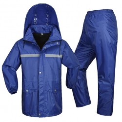 Zoom Raincoat Set (Pant With Shirt) XL Size