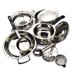 20 Guage 11 pcs Cookware Set