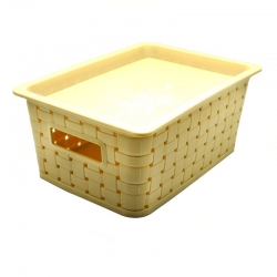 Hitesh Cannes Basket Small with Lid