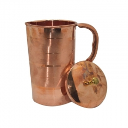 Pure Copper Water Jug Luxury Design